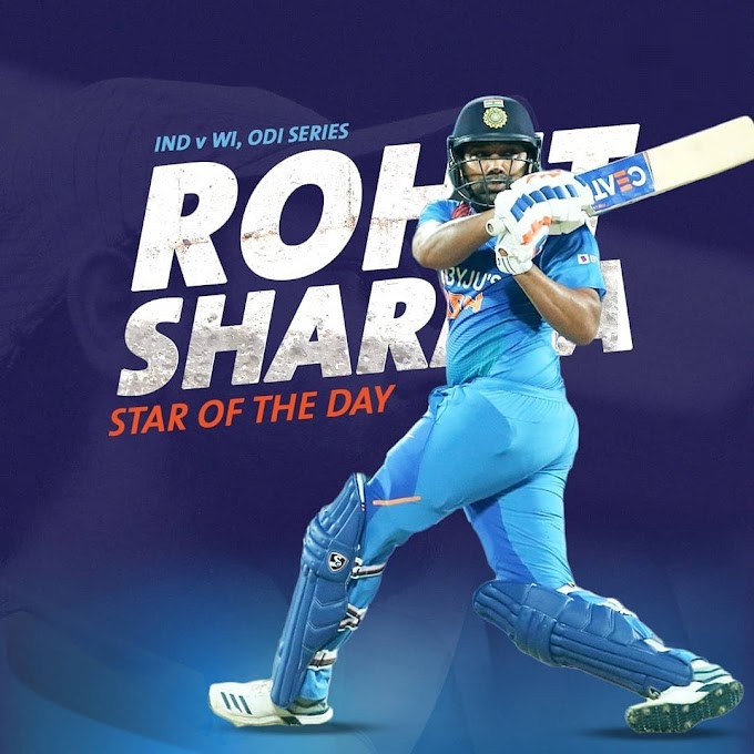 IND vs WI: Rohit Sharma scores 159 runs in 2nd ODI, Breaks 12 big records together