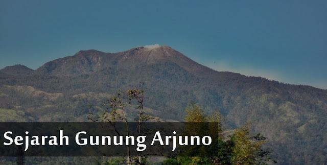 sejarah gunung arjuno