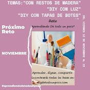 Con Restos de Madera, DIY con Luz y DIY con Tapas de Botes