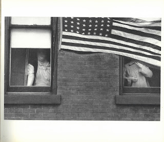 Photo from The American of apartment windows in Hoboken, New Jersey