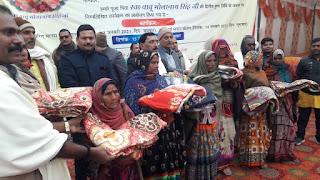गरीबों की सेवा से बढ़कर कोई पुनीत कार्य नही-अरविंद सिंह  | #NayaSaberaNetwork