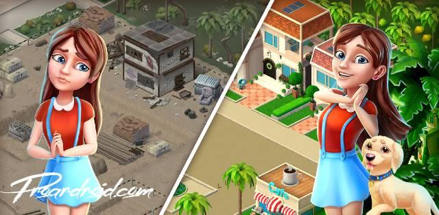 تحميل لعبة ادارة الفنادق الممتعة Resort Hotel: Bay Story النسخة المهكرة للاجهزة الاندرويد باخر تحديث !