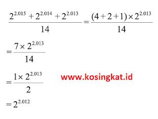 kunci jawaban matematika kelas 9 halaman 30 - 32 latihan 1.3