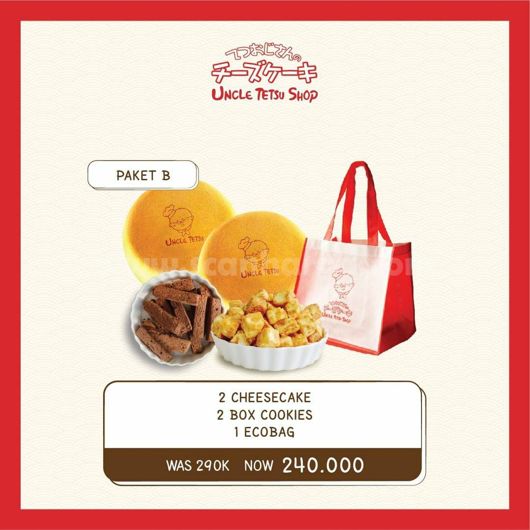 Promo Uncle Tetsu Shop Paket Family Pack Up To 25% Off
