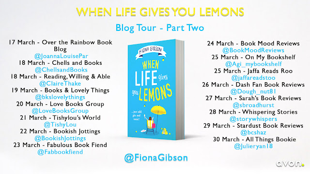 Blog Tour for When Life gives you Lemons by Fiona Gibson (2)