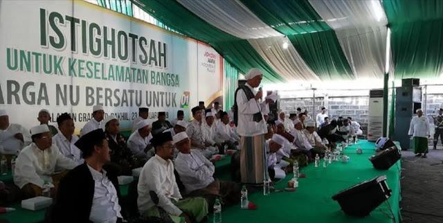 Demi Aswaja Nahdliyyah, 50 Kiai Se-Pasuruan Serukan Warga NU Pilih Jokowi