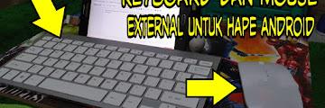 Bagaimana Cara Menggunakan Mouse dan Keyboard di Hape