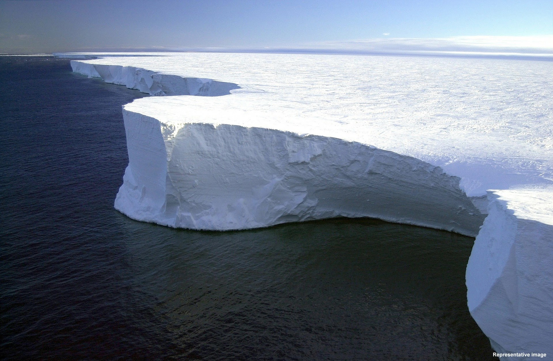 World's Largest Iceberg 'A76' Breaks Off From Antarctica