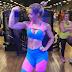 Treino de posteriores feito pela atleta IFBB Wellness Vivi Winkler em novembro/2017