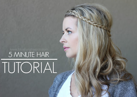 Voloom Hair Tool and Five Minute Hair Tutorial