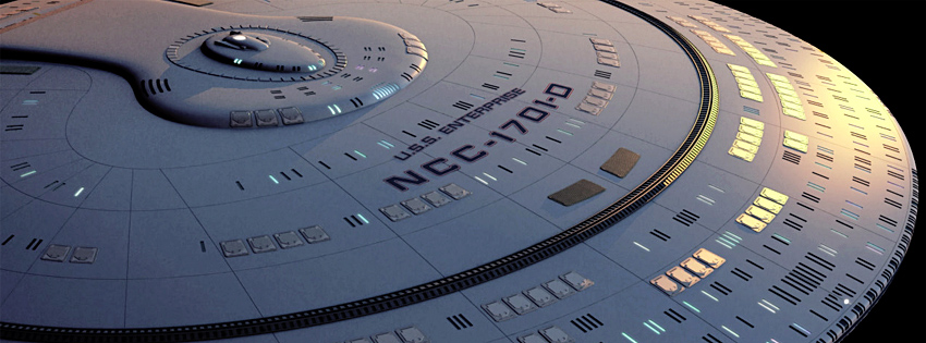 USS Enterprise-D Real-Time Star Trek Series