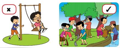 gambar kegiatan menjaga kebersihan lingkungan sekitar www.simplenews.me