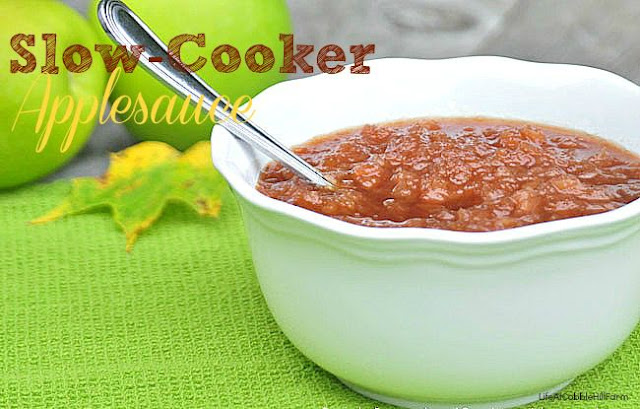 Slow-Cooker Applesauce