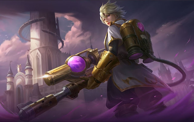 Kimmy Splat Queen Heroes Marksman Mage of Skins New Mobile Legends Wallpaper HD for PC
