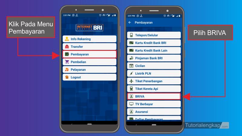 Tutorialengkap 2 Cara isi Ovo Cash Dari Bri Mobile Banking atau ATM BRI