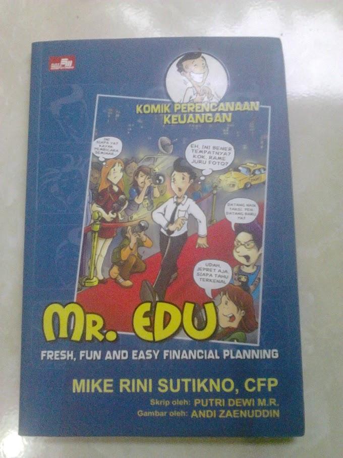 Review Buku : Komik Perencanaan Keuangan Mr. Edu