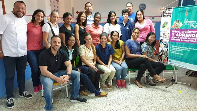 SALUD: Chef Alexander López comparte consejos de buena alimentación con padres y representantes.