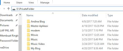 Akses Folder Windows Explorer