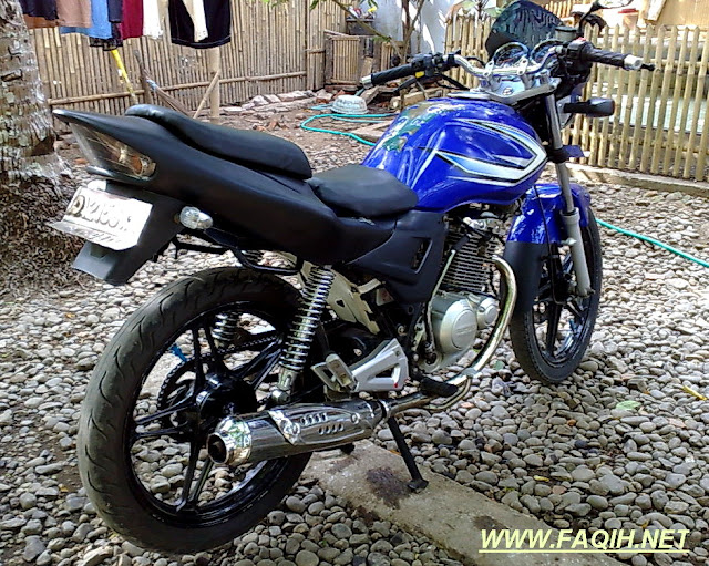 Modifikasi Suzuki Thunder 125 sport
