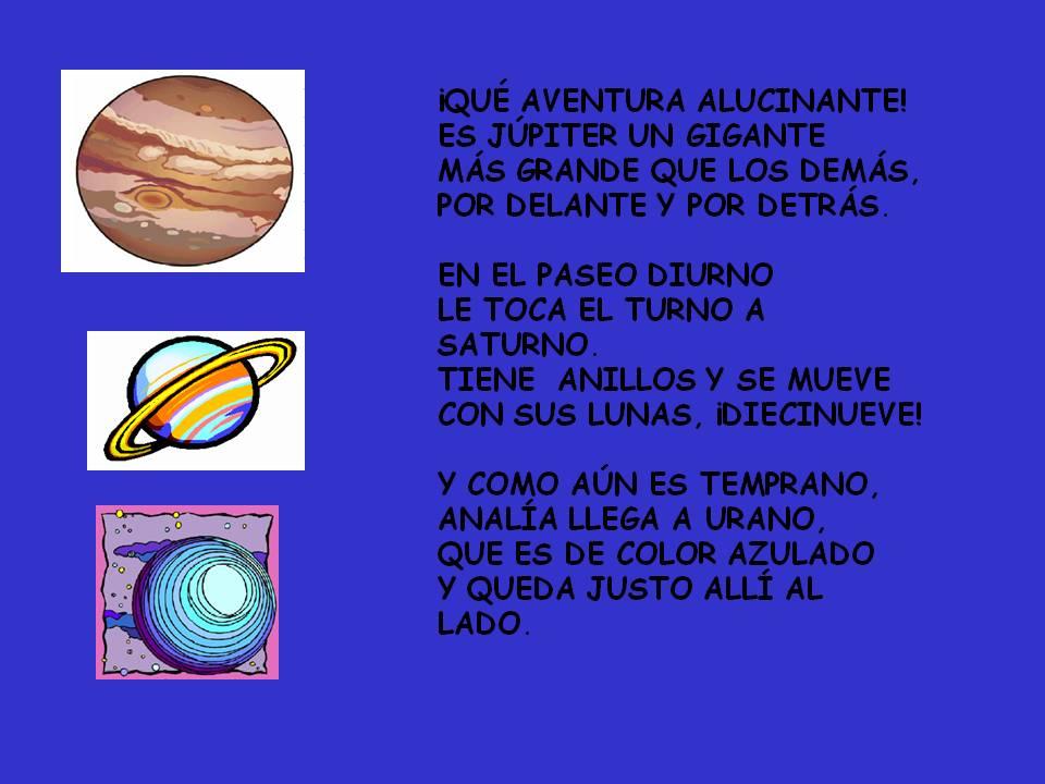Esos Locos Bajitos De Infantil Poesía De Los Planetas