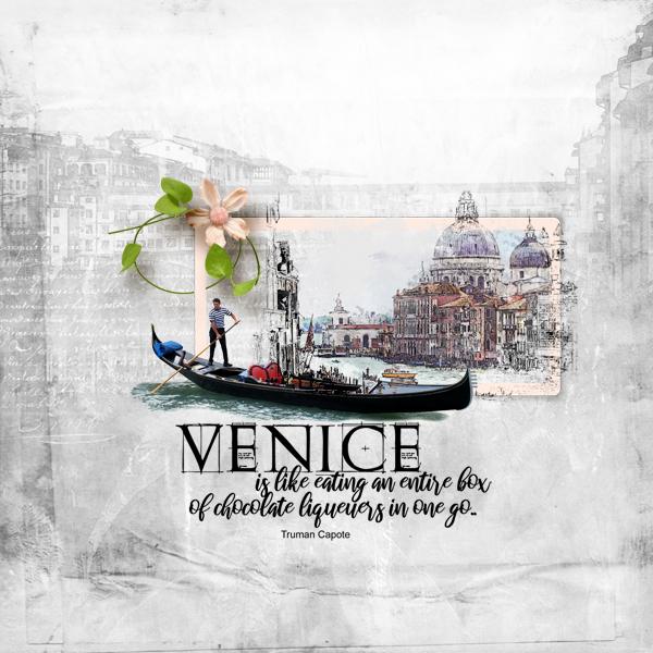 venice © sylvia • sro 2019 • la dolce vita by synergy ink