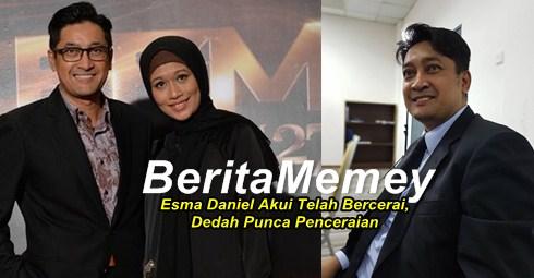 Pelakon Esma Daniel Akui Telah Bercerai, Dedah Punca Penceraian