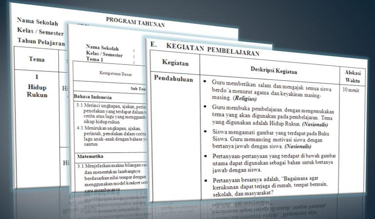 RPP Silabus Prota Promes Kelas 2 SD MI Kurikulum 2013 Revisi 2017