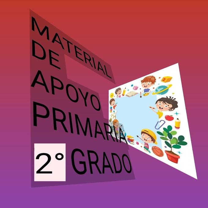 Material de Apoyo (Marzo-Abril) 2° Primaria Ciclo Escolar 2019-2020.