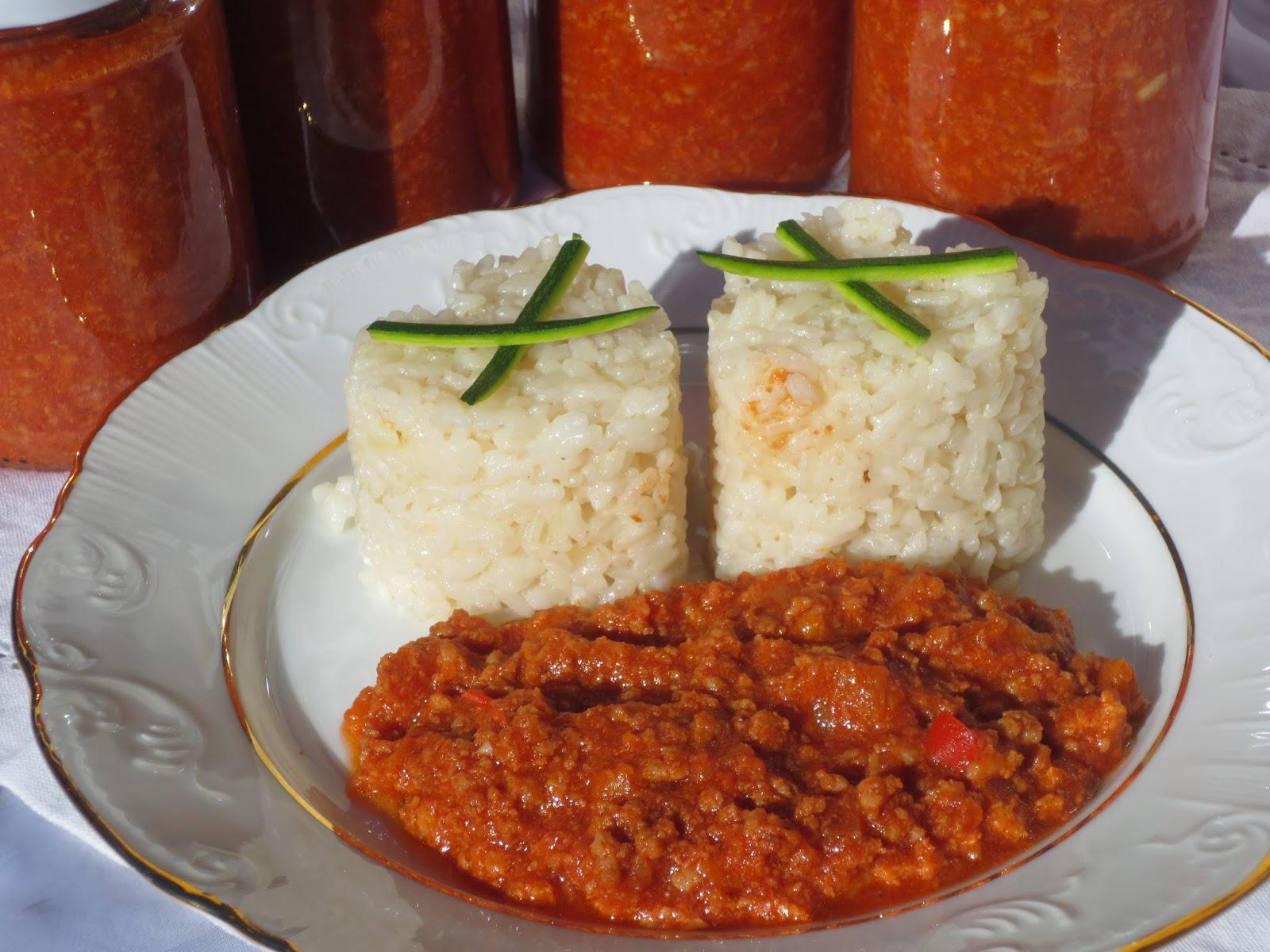 Salsa boloñesa para envasar Ana Sevilla