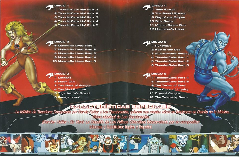 Thundercats Disco 23@24 Latino