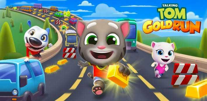 Talking Tom Gold Run Best Running Games In Hindi