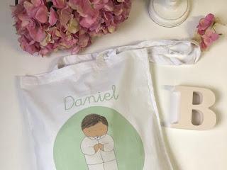 Bolsas de algodón personalizadas de PRIMERA COMUNIÓN