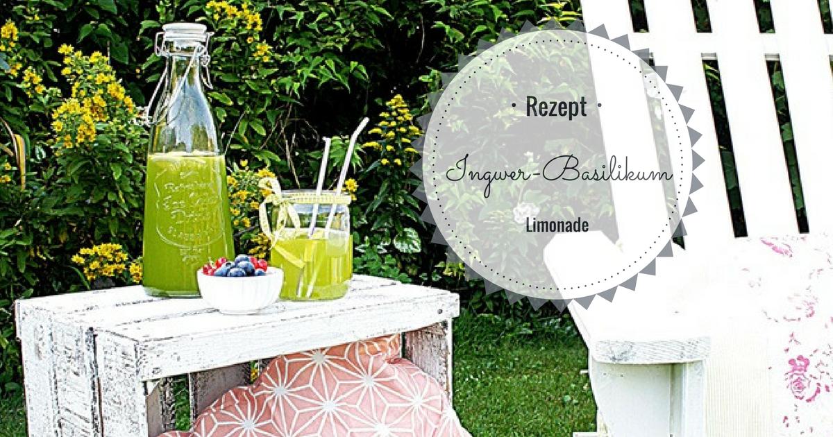 smillas wohngef hl ingwer basilikum limonadeodercold. Black Bedroom Furniture Sets. Home Design Ideas