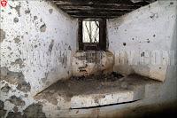 Второй польский бункер. Правая пулеметная амбразура