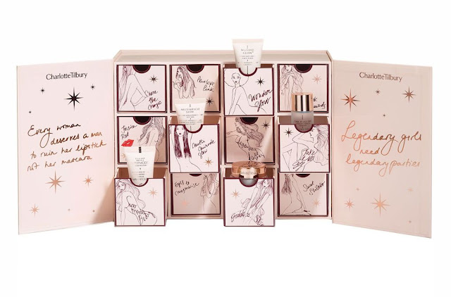 Charlotte Tilbury Advent Beauty Calendar for Christmas. Advent Calendar 2016 Gift Guide.