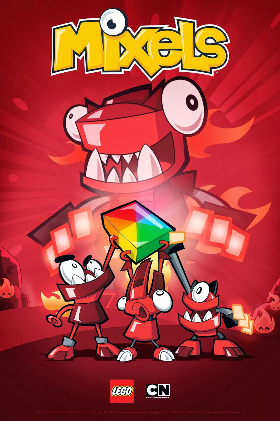 b79c103ca570 Mixels Animated Shorts Premiere on Cartoon Network Philippines February 17