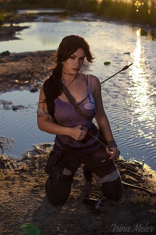 COSPLAY #8 : Irina Meier devient Lara Croft de Tomb Raider