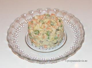 Salata a la russe retete culinare,