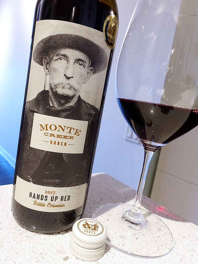 Monte Creek Hands Up Red 2017 (86 pts)