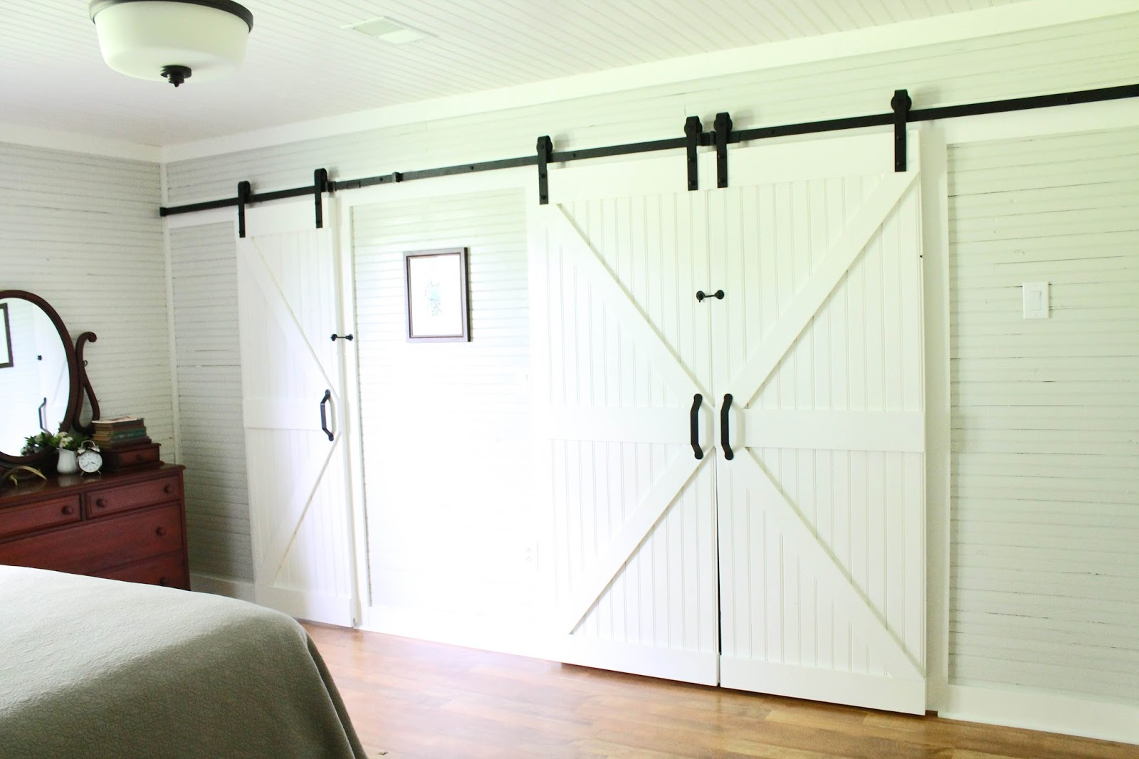Keeping It Cozy A Wall Of Sliding Barn Doors