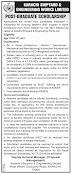 Karachi Shipyard & Engineering Works Postgraduate Scholarships 2021