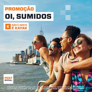 Promoção Kayak 2019
