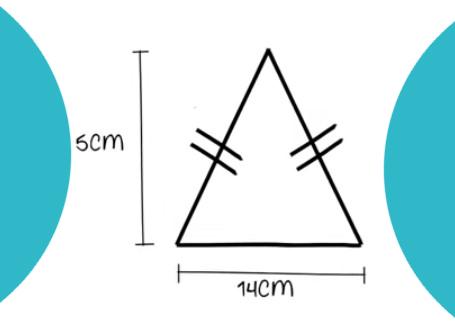 Tugas Belajar Matematika Rumus dan Contoh Segitiga sama kaki