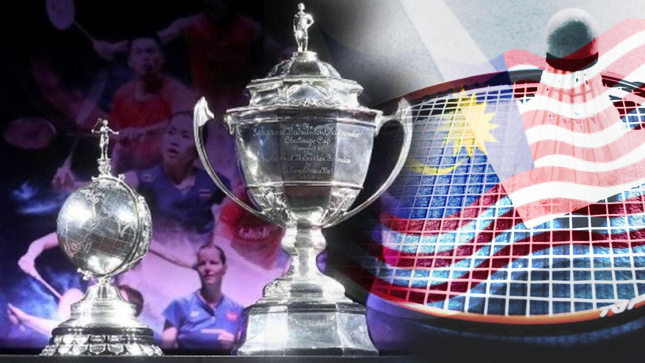 Barisan Pemain Badminton Negara Dalam Piala Thomas & Piala Uber 2021