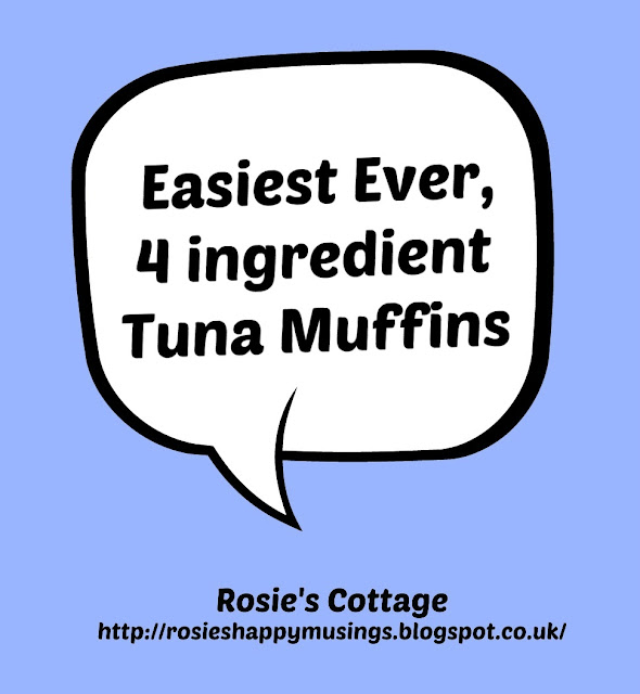 Easiest ever 4 ingredient tuna muffins