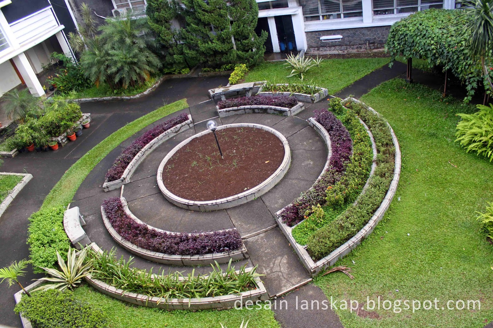 jurusan arsitektur lanskap; desain lanskap; desain taman; taman geometris