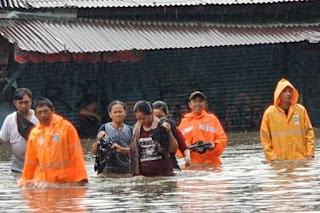 Awal Tahun 2020 , ini Rincian Banjir di Jakarta , Bekasi dan sekitarnya