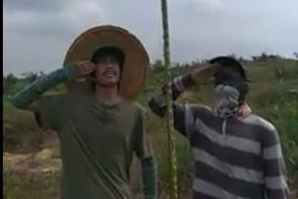 Kisah TKI Di Malaysia, Rayakan HUT RI 74 di Ladang Sawit Malaysia