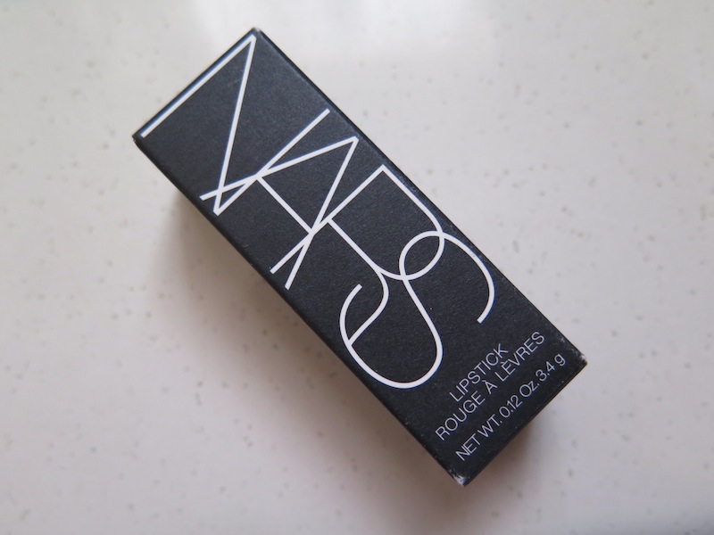 The Blackmentos Beauty Box Review Nars Lipstick In Funny