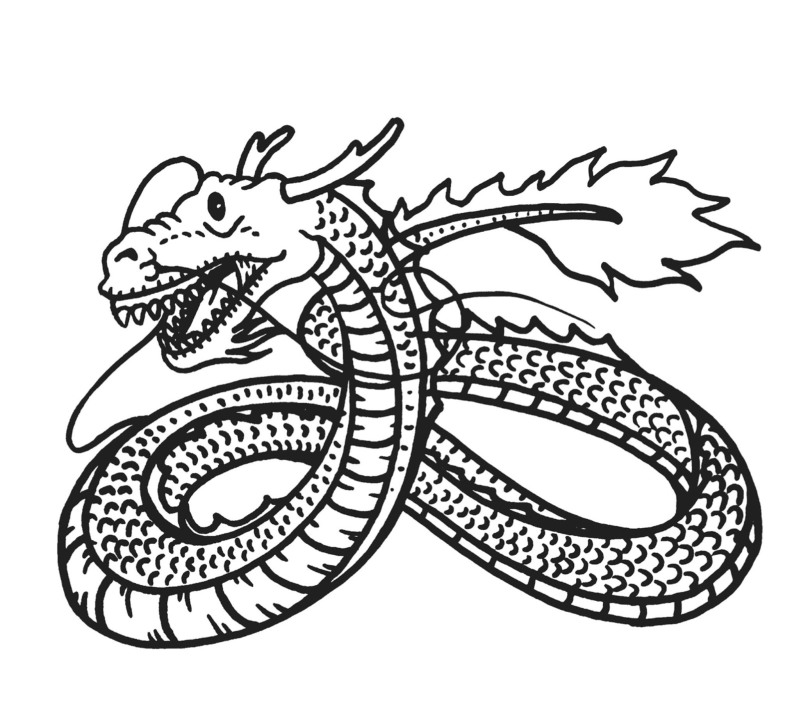 Free Printable Chinese Dragon Coloring Pages For Kids | 1450x1600